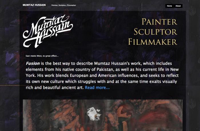 Mumtaz Hussain :: Painter, Sculptor, Filmmaker