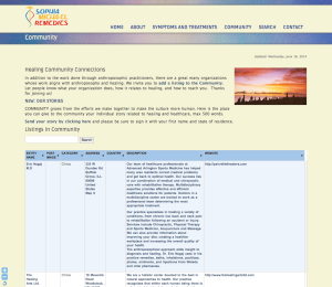 Community page of Sophia Micha-el Remedies